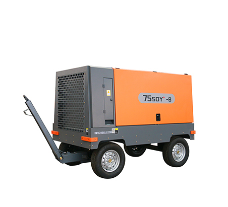 Light mobile screw air compressor - electric mobile product series