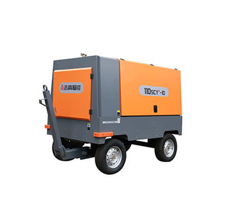 Light moving screw air compressor - Diesel mobile products