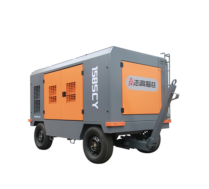Medium sized mobile screw air compressor diesel mobile products